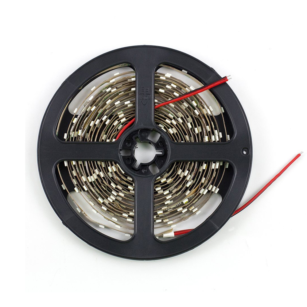 Outdoor 12 Volt 60leds Meter Led Strip Smd 5050 Rgb: Non Waterproof SMD 3528 LED Strip 5M/Roll 60leds/M RGB LED