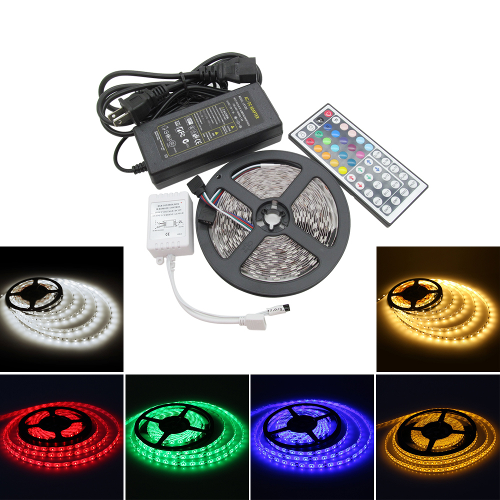 Flexible 5050 Smd Led Strip 60leds M Rgb Led Strips Light