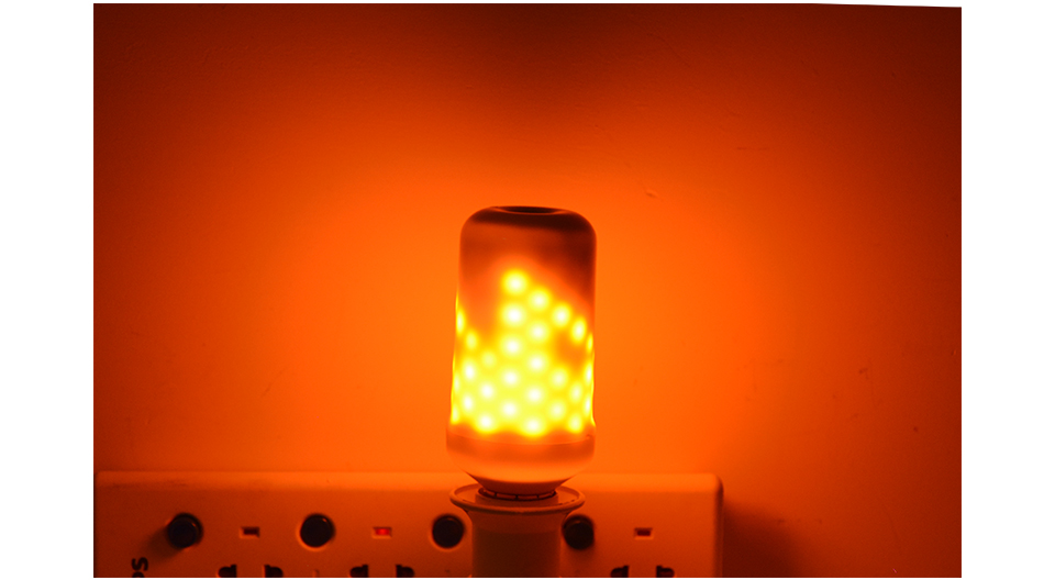 E27 110v 220v Fire Flame Led Bulb Fire Effect Lamp Novelty