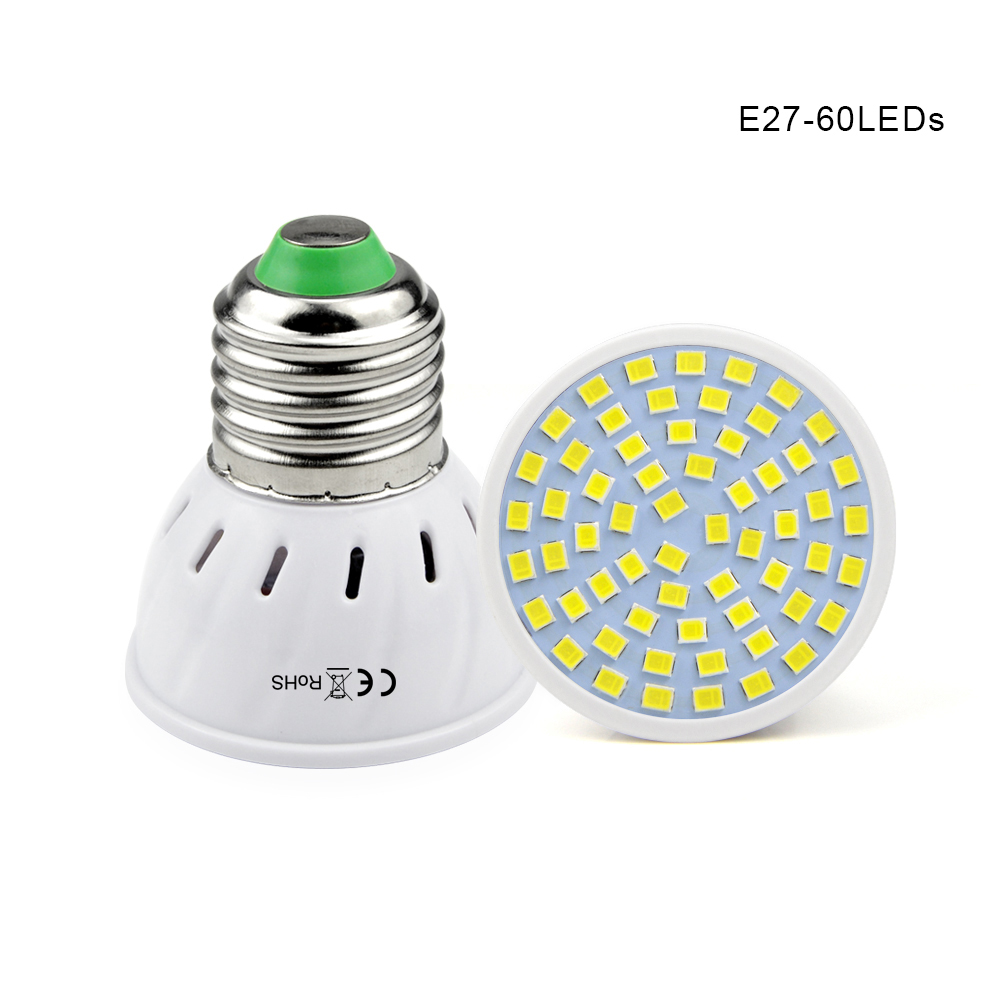 1pcs e27 ac 220v 5w 7w 9w 2835 smd led spotlight bulb 48 60 80 leds lamp spot light for indoor. Black Bedroom Furniture Sets. Home Design Ideas